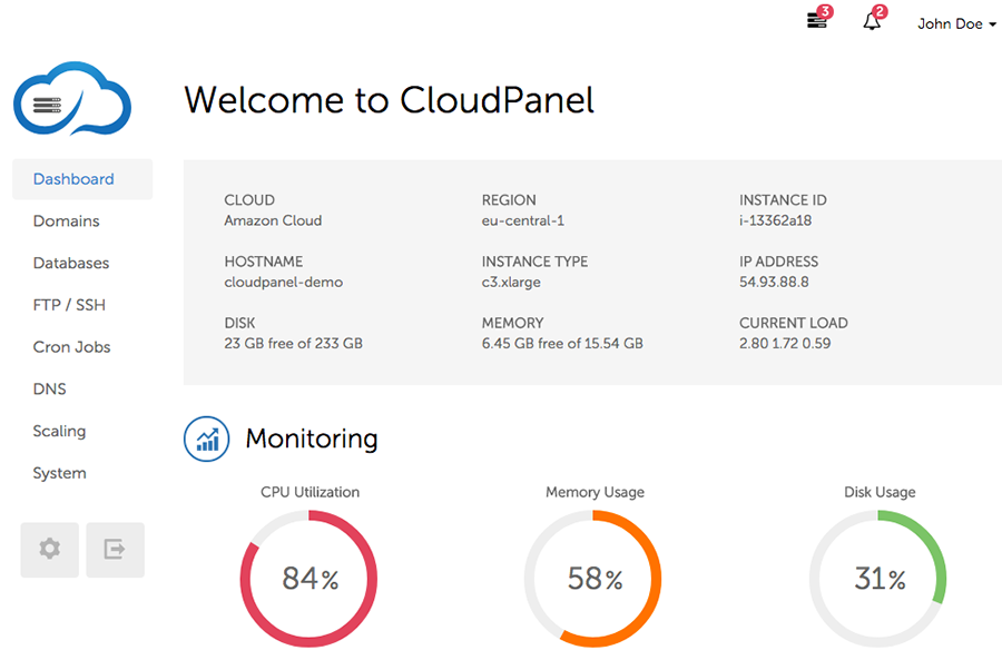 CloudPanel.io