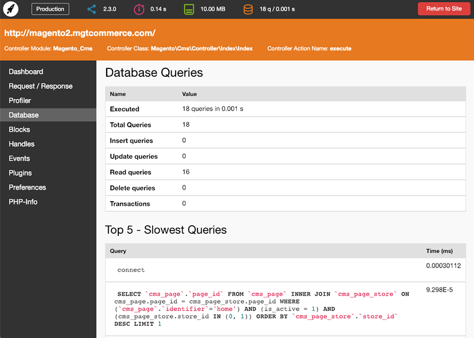 Database Queries